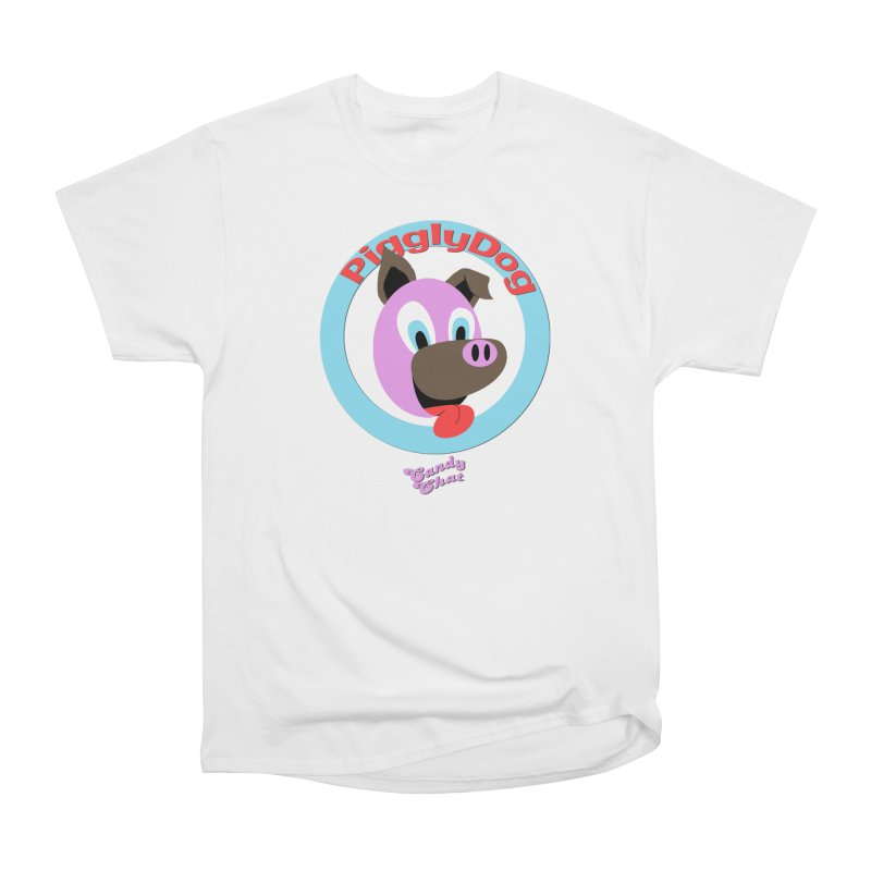Piggly Dog Men's Heavyweight T-Shirt by Blurry Photos's Artist Shop