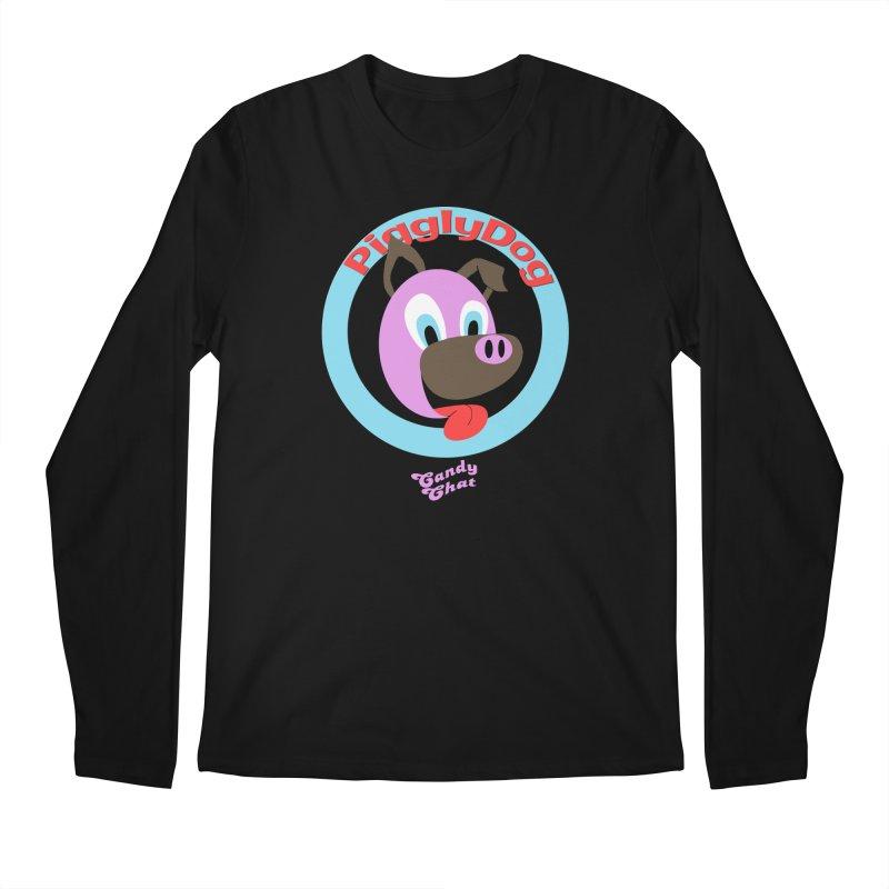 Piggly Dog Men's Longsleeve T-Shirt by Blurry Photos's Artist Shop