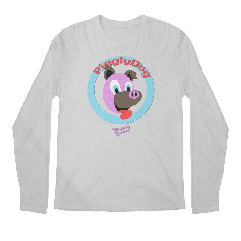 Piggly Dog Men's Regular Longsleeve T-Shirt by Blurry Photos's Artist Shop