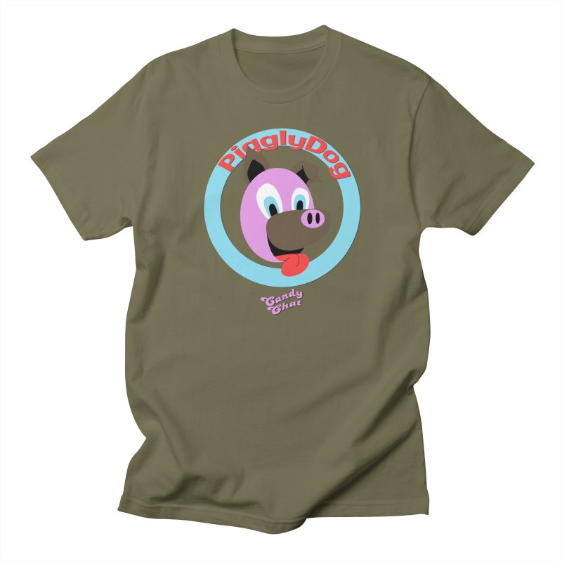 Piggly Dog Women's Regular Unisex T-Shirt by Blurry Photos's Artist Shop