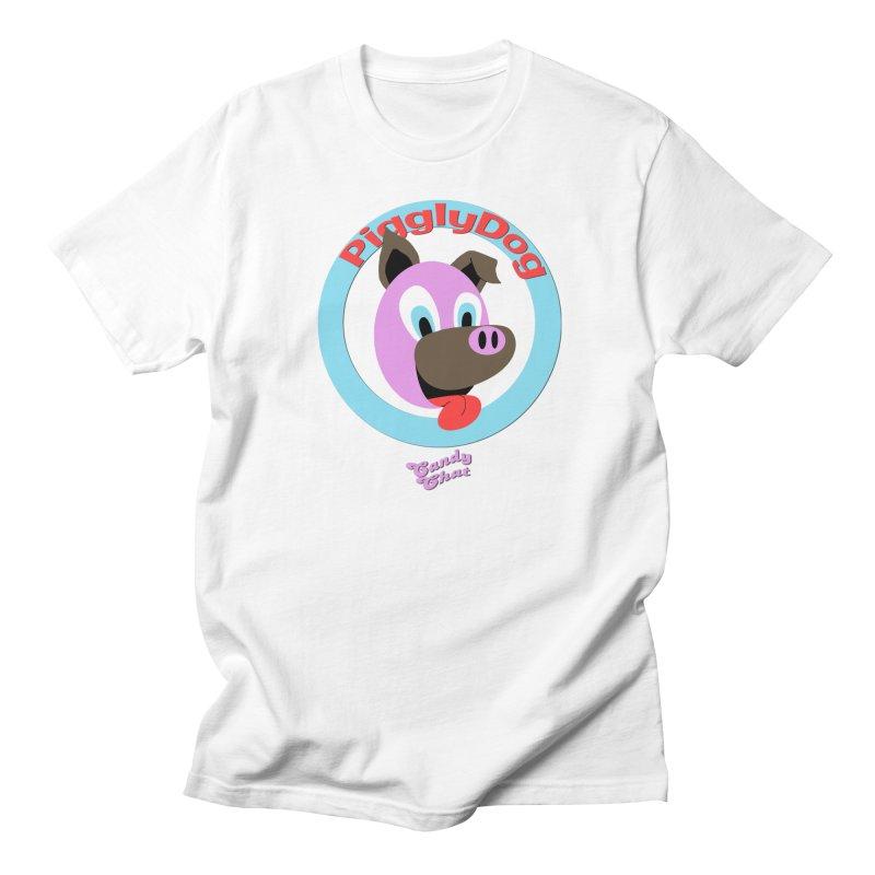 Piggly Dog Men's Regular T-Shirt by Blurry Photos's Artist Shop