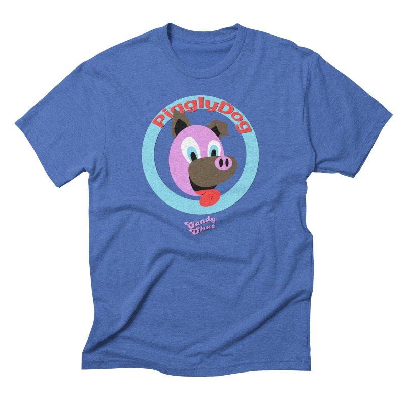 Piggly Dog Men's Triblend T-Shirt by Blurry Photos's Artist Shop