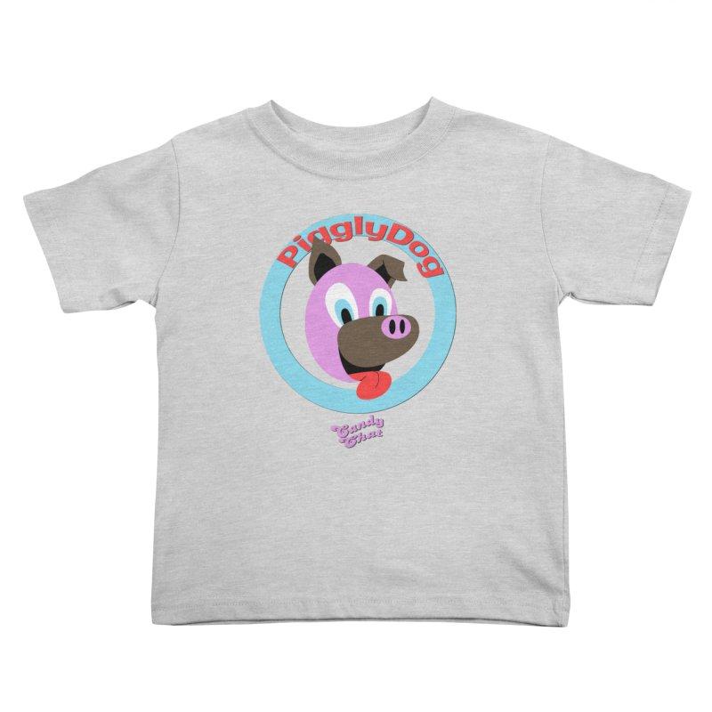 Piggly Dog Kids Toddler T-Shirt by Blurry Photos's Artist Shop