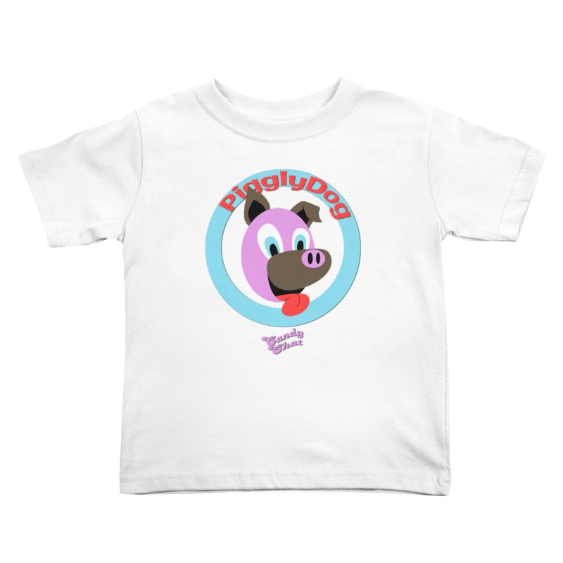Piggly Dog Kids Toddler T-Shirt by Blurry Photos's Artist Shop