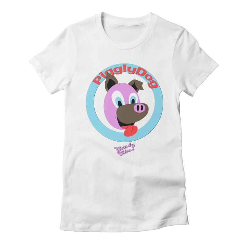 Piggly Dog Women's T-Shirt by Blurry Photos's Artist Shop
