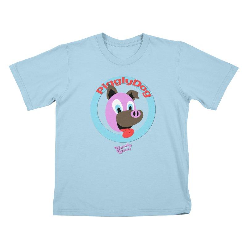 Piggly Dog Kids T-Shirt by Blurry Photos's Artist Shop