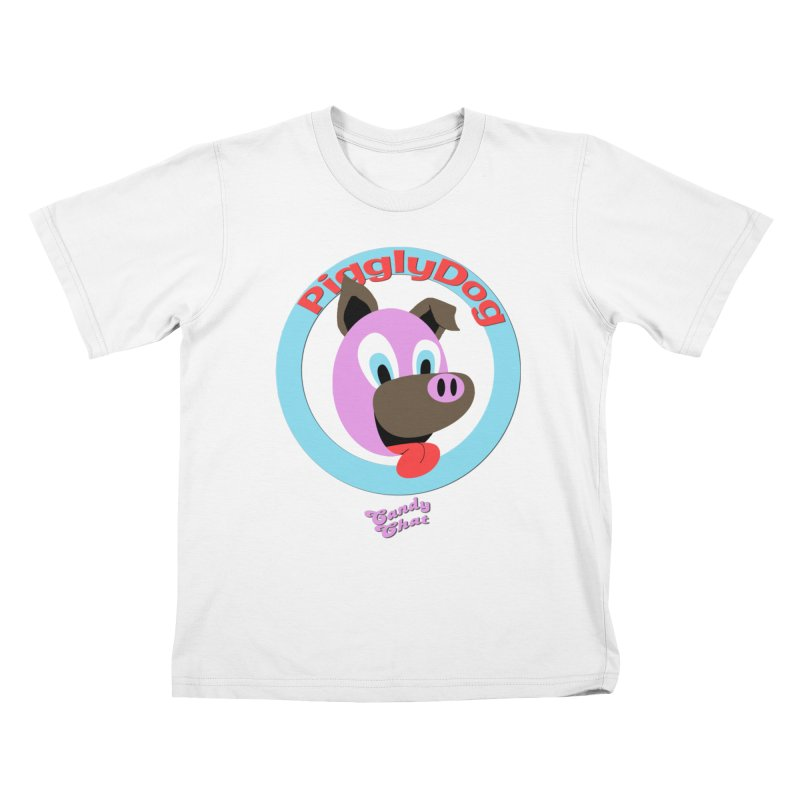 Piggly Dog Kids T-Shirt by Blurry Photos's Artist Shop