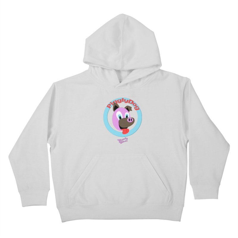 Piggly Dog Kids Pullover Hoody by Blurry Photos's Artist Shop