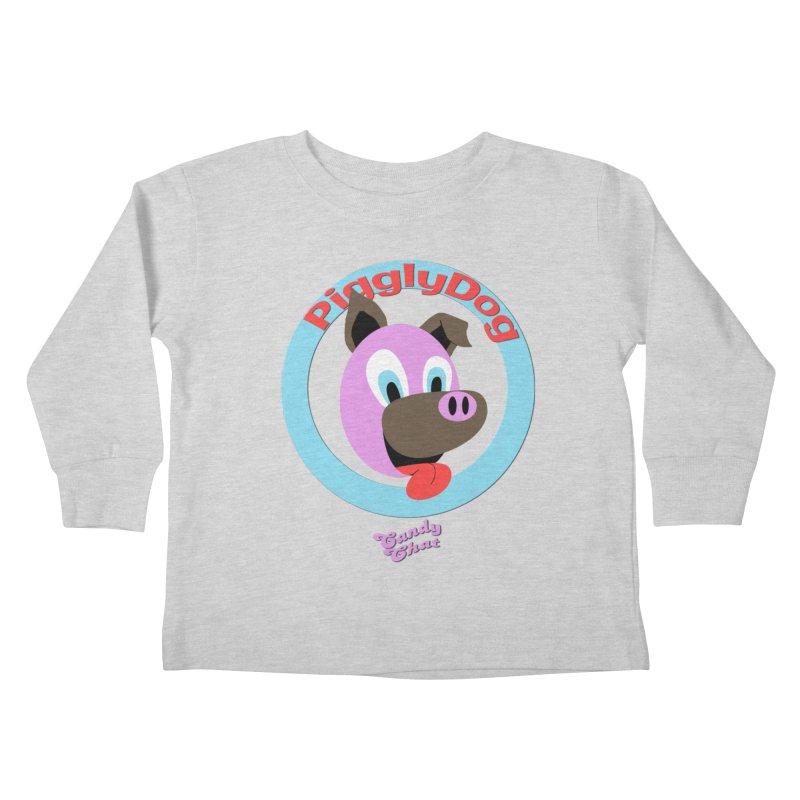Piggly Dog Kids Toddler Longsleeve T-Shirt by Blurry Photos's Artist Shop