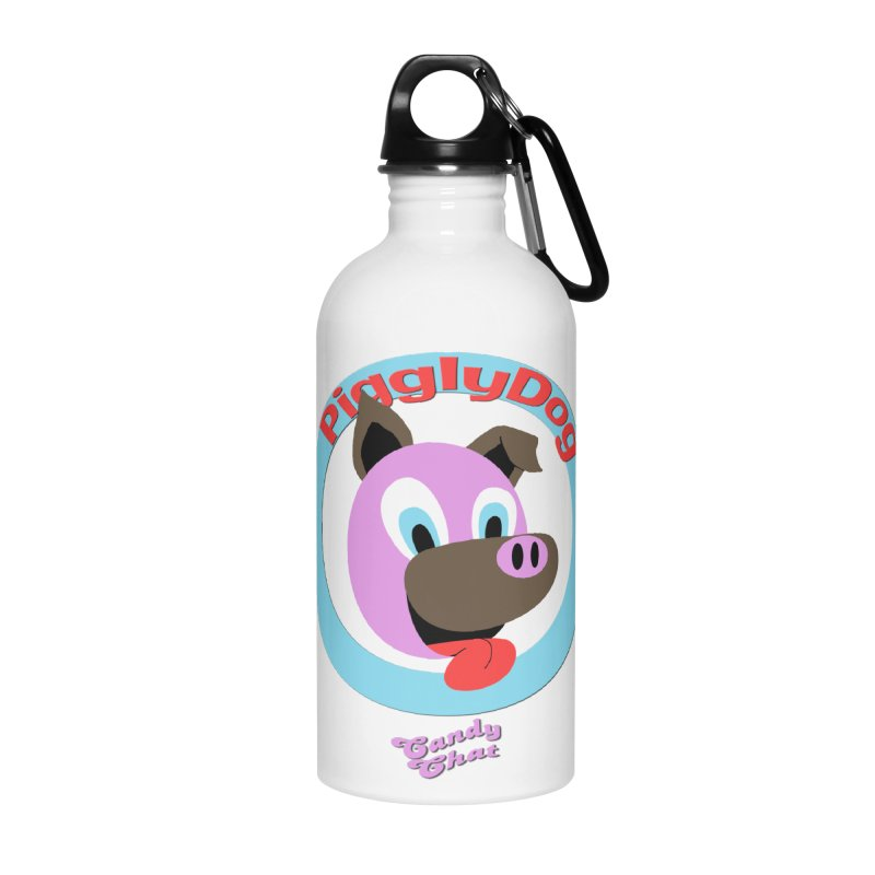 Piggly Dog Accessories Water Bottle by Blurry Photos's Artist Shop