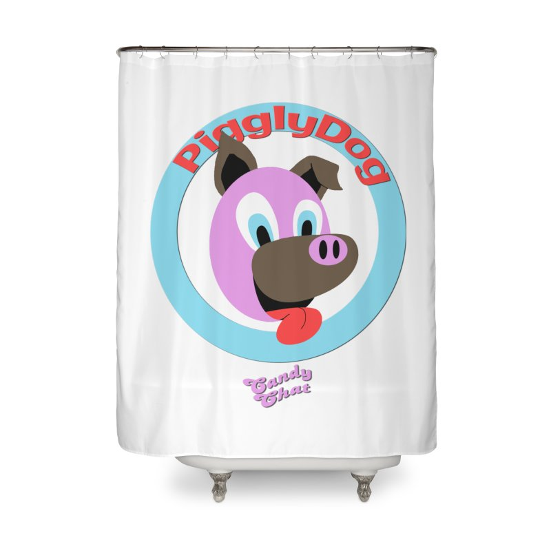 Piggly Dog Home Shower Curtain by Blurry Photos's Artist Shop
