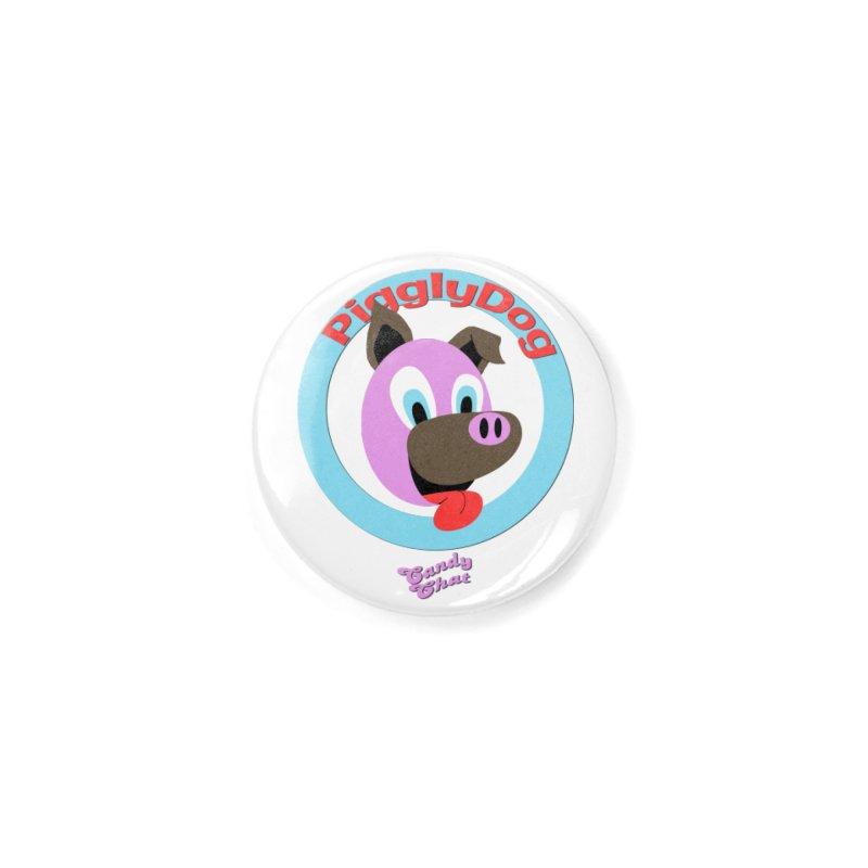 Piggly Dog Accessories Button by Blurry Photos's Artist Shop