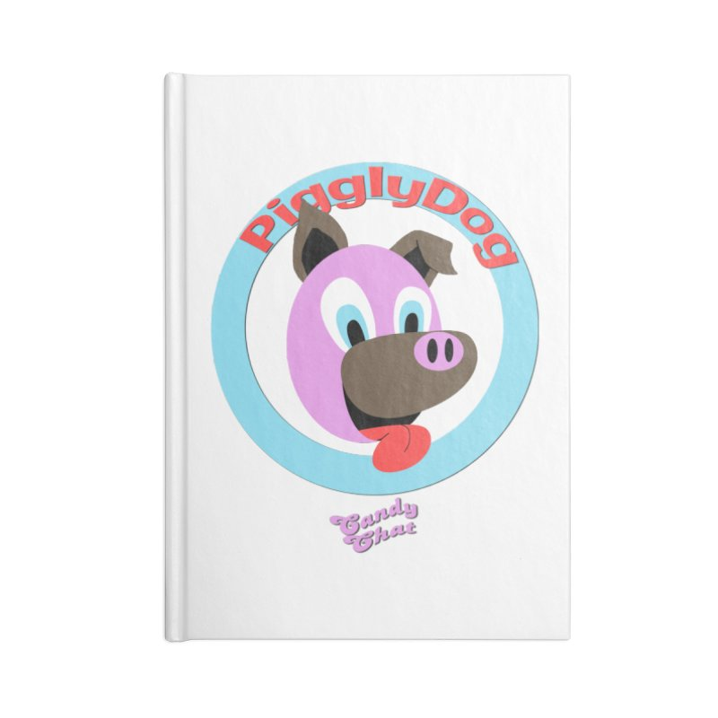 Piggly Dog Accessories Blank Journal Notebook by Blurry Photos's Artist Shop