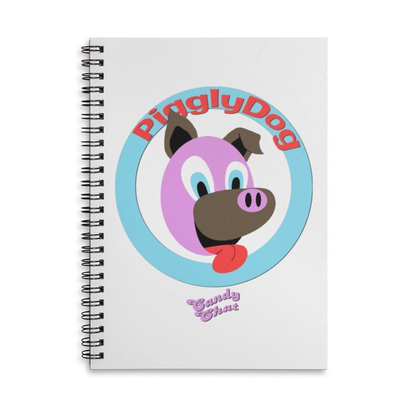 Piggly Dog Accessories Notebook by Blurry Photos's Artist Shop