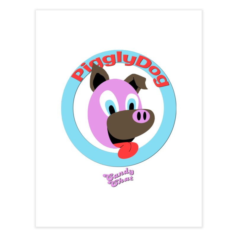 Piggly Dog Home Fine Art Print by Blurry Photos's Artist Shop