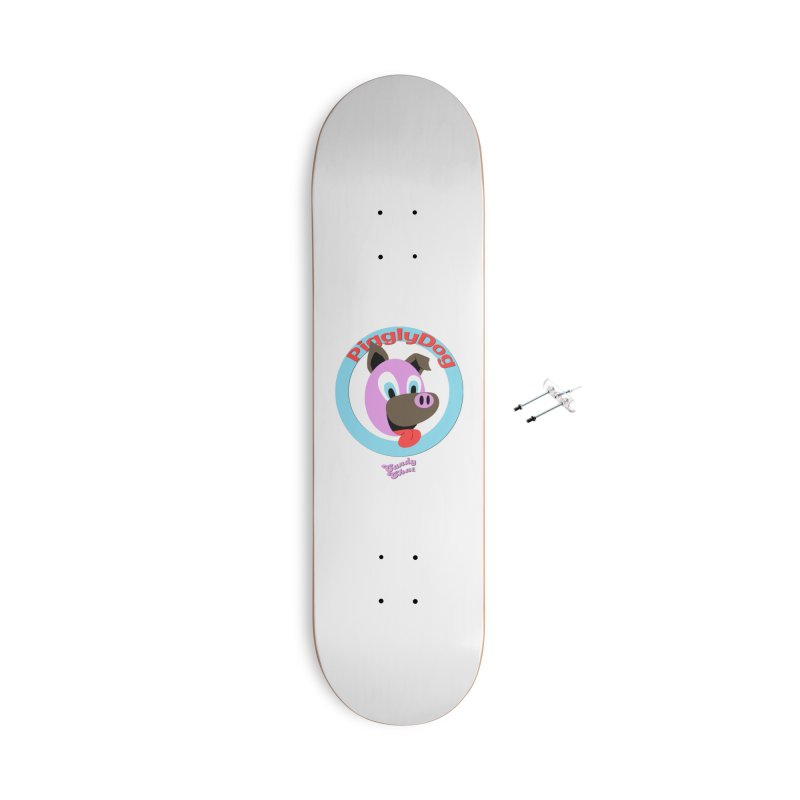 Piggly Dog Accessories Skateboard by Blurry Photos's Artist Shop