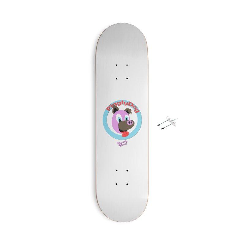Piggly Dog Accessories Skateboard by Blurry Photos's Artist Shop