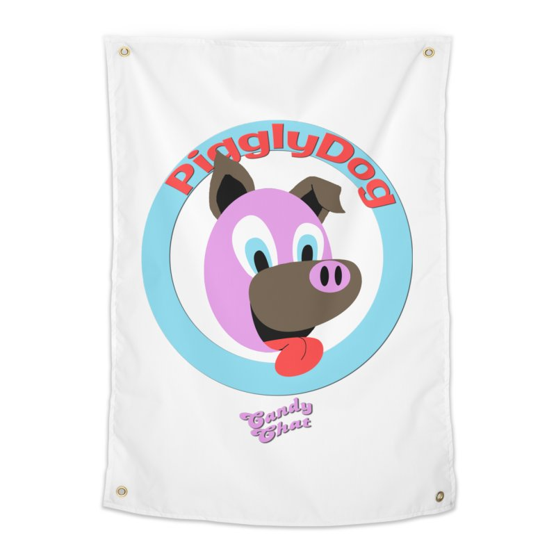 Piggly Dog Home Tapestry by Blurry Photos's Artist Shop