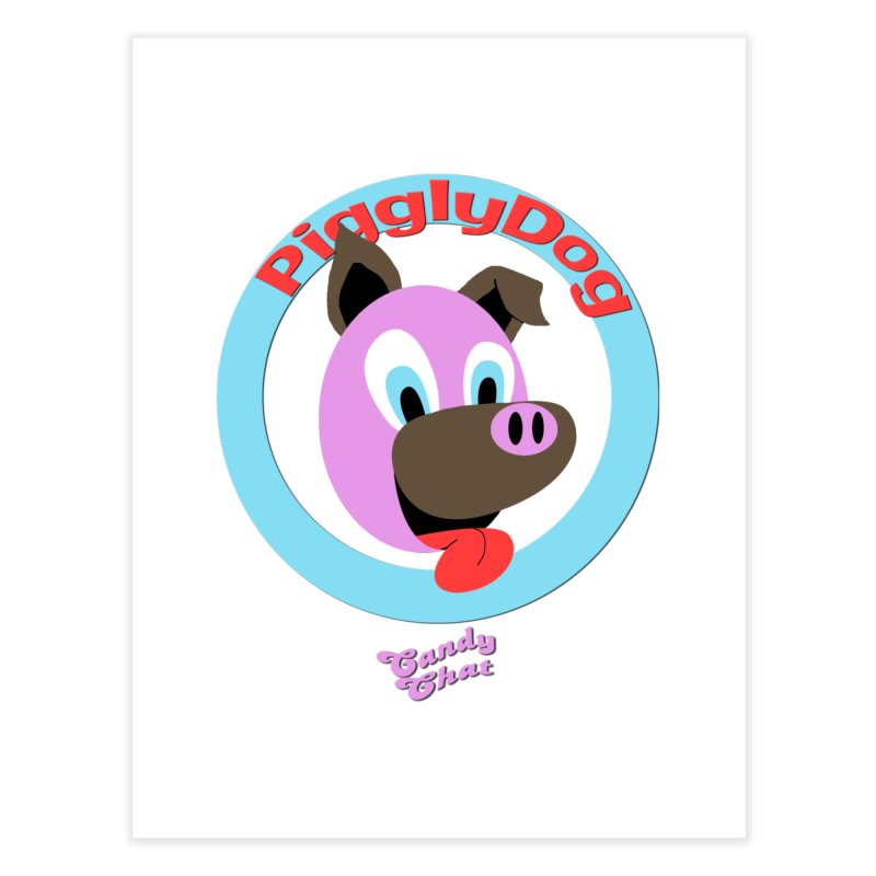 Piggly Dog Home Fine Art Print by Blurry Photos's Artist Shop