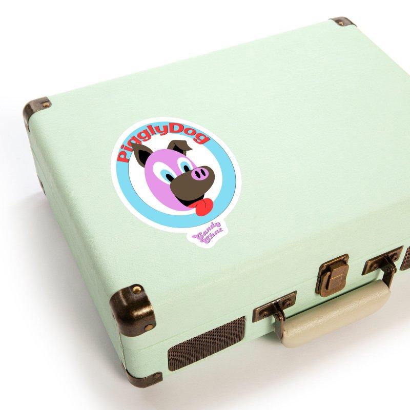 Piggly Dog Accessories Sticker by Blurry Photos's Artist Shop
