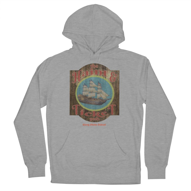 Haint & Ticket Pub Men's French Terry Pullover Hoody by Blurry Photos's Artist Shop