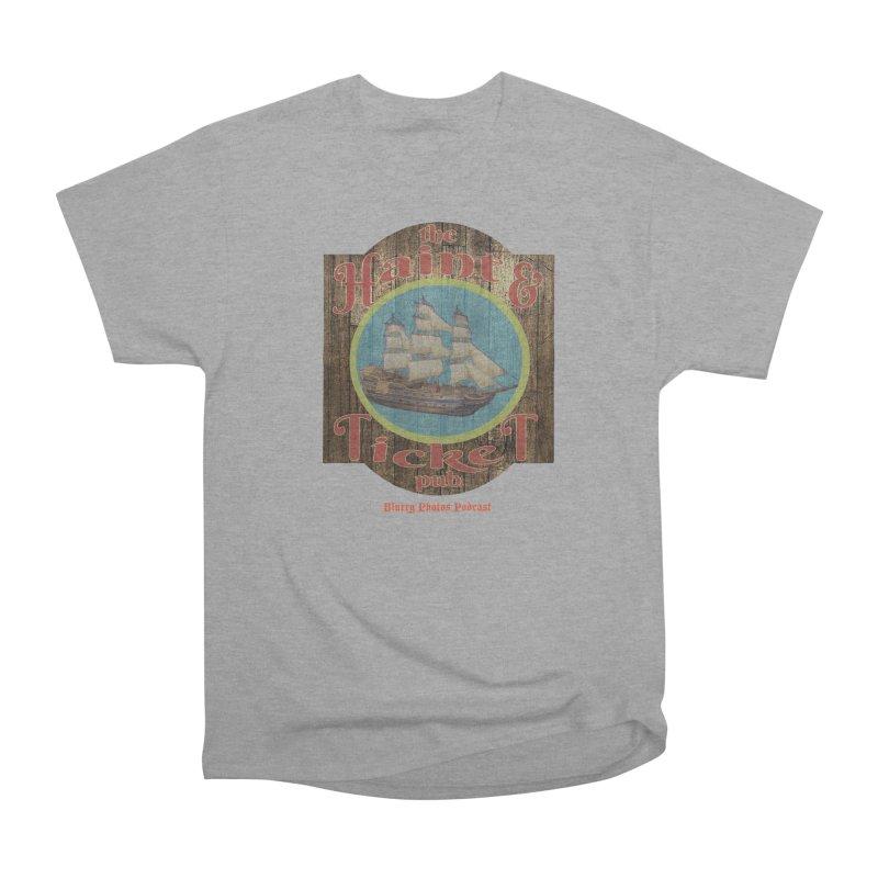 Haint & Ticket Pub Men's Heavyweight T-Shirt by Blurry Photos's Artist Shop