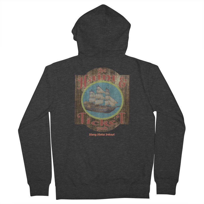 Haint & Ticket Pub Women's French Terry Zip-Up Hoody by Blurry Photos's Artist Shop