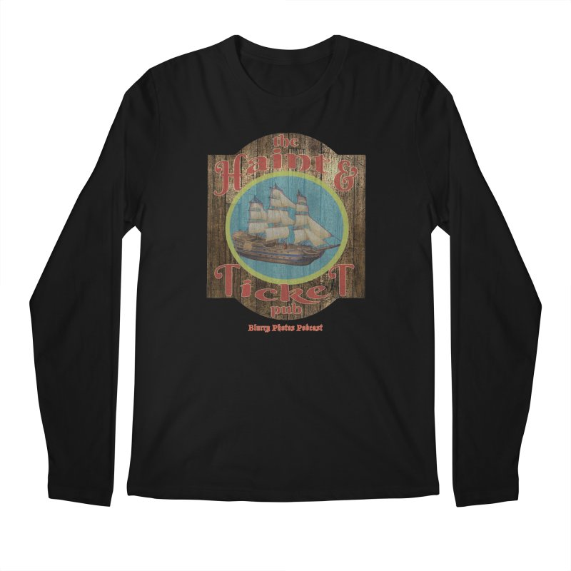 Haint & Ticket Pub Men's Regular Longsleeve T-Shirt by Blurry Photos's Artist Shop