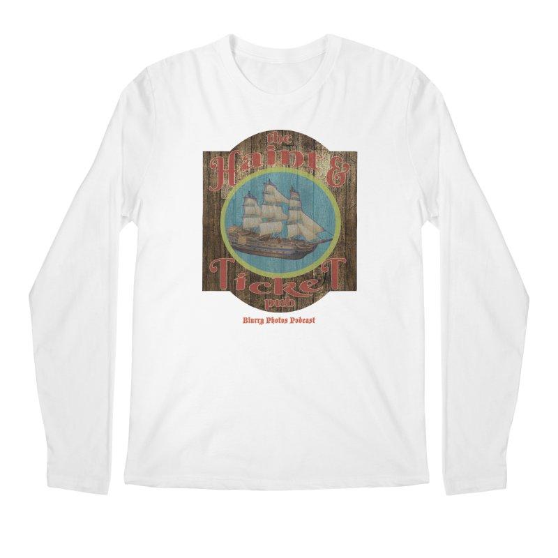 Haint & Ticket Pub Men's Regular Longsleeve T-Shirt by Blurry Photos's Artist Shop