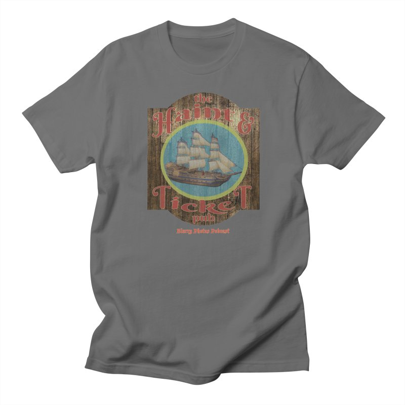 Haint & Ticket Pub Men's T-Shirt by Blurry Photos's Artist Shop