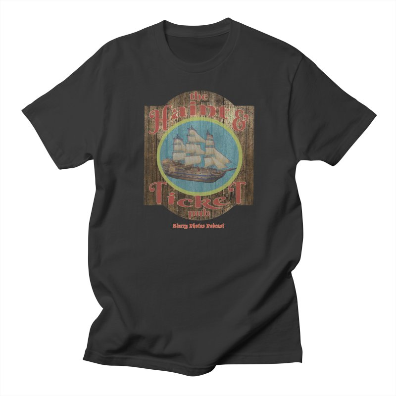 Haint & Ticket Pub Men's Regular T-Shirt by Blurry Photos's Artist Shop