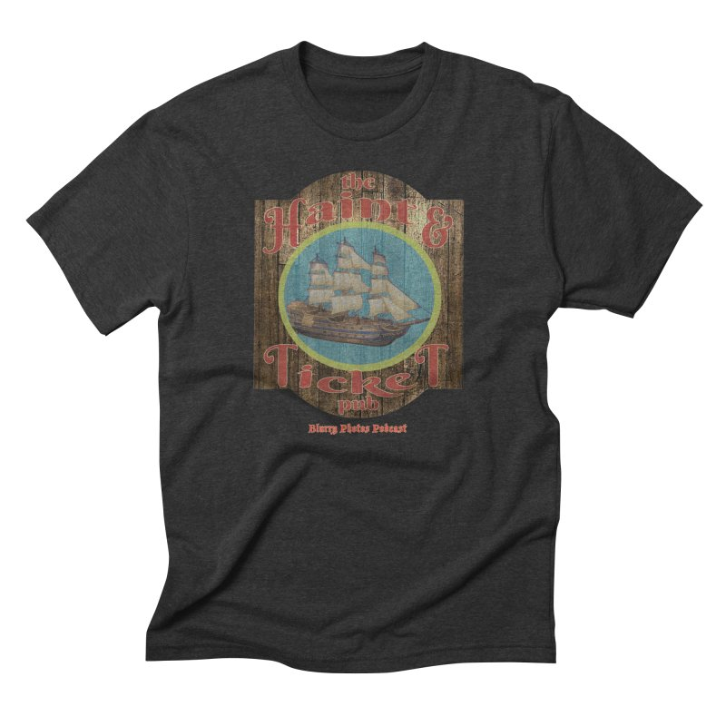Haint & Ticket Pub Men's Triblend T-Shirt by Blurry Photos's Artist Shop