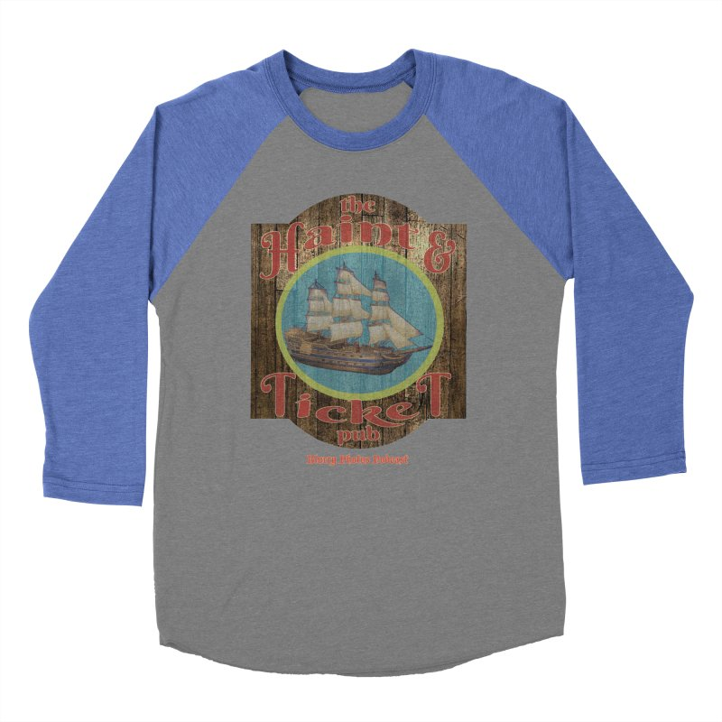 Haint & Ticket Pub Women's Baseball Triblend Longsleeve T-Shirt by Blurry Photos's Artist Shop