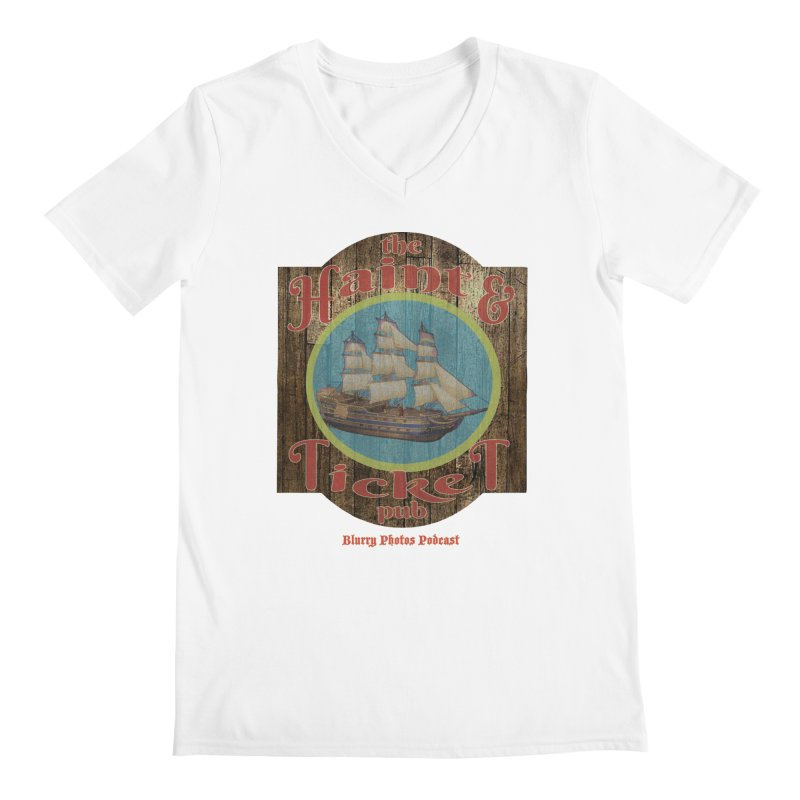 Haint & Ticket Pub Men's V-Neck by Blurry Photos's Artist Shop