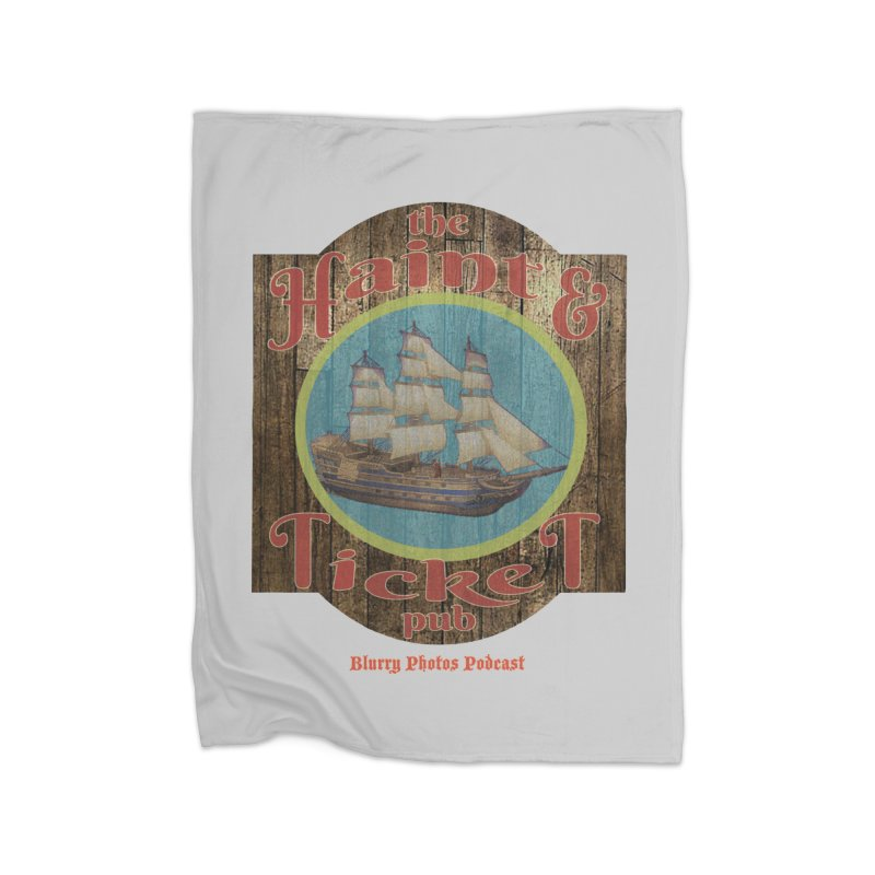 Haint & Ticket Pub Home Blanket by Blurry Photos's Artist Shop