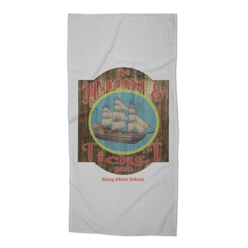 Haint & Ticket Pub Accessories Beach Towel by Blurry Photos's Artist Shop