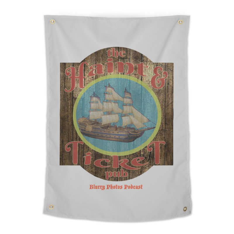 Haint & Ticket Pub Home Tapestry by Blurry Photos's Artist Shop