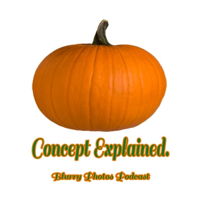 Pumpkin Explanation by Blurry Photos's Artist Shop