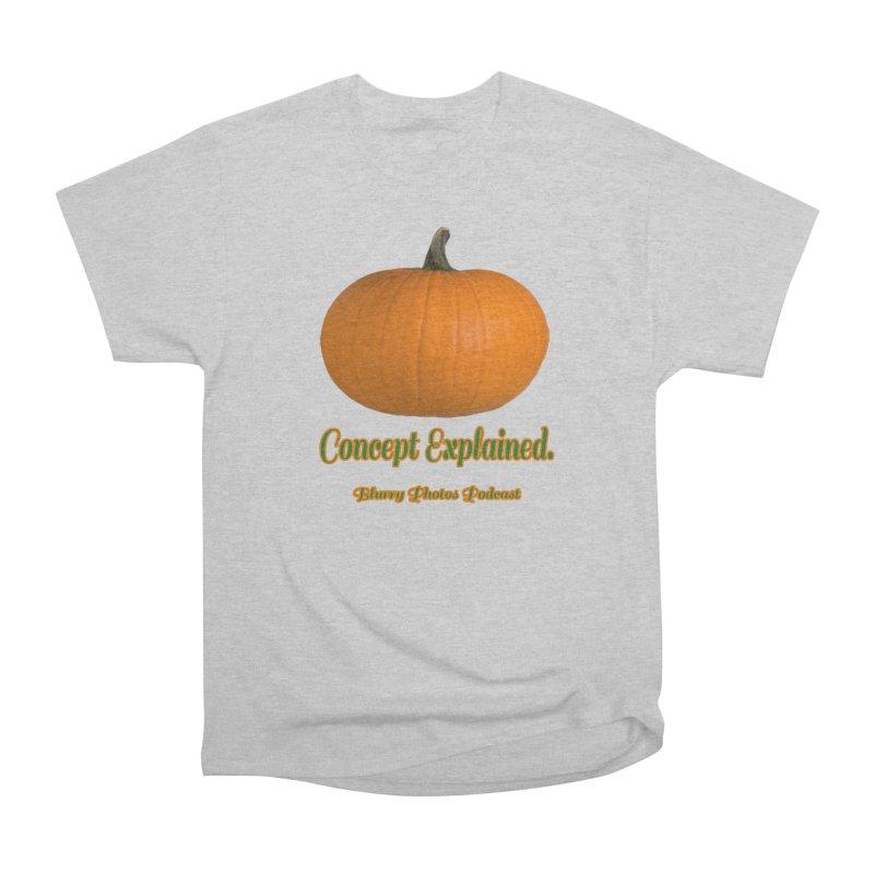 Pumpkin Explanation Men's T-Shirt by Blurry Photos's Artist Shop