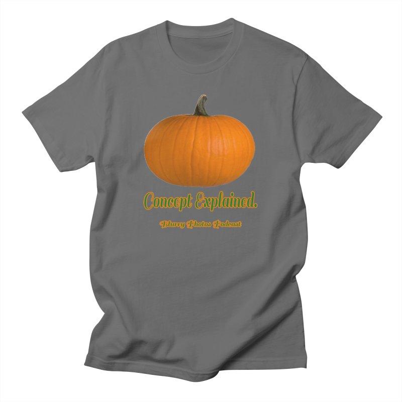 Pumpkin Explanation Women's T-Shirt by Blurry Photos's Artist Shop