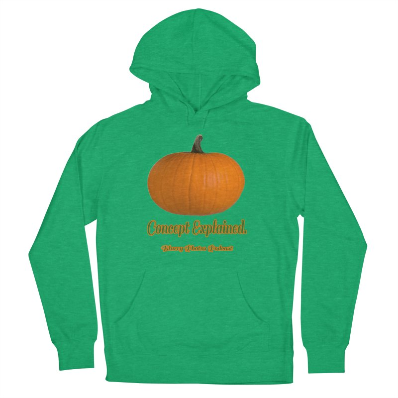 Pumpkin Explanation Women's French Terry Pullover Hoody by Blurry Photos's Artist Shop