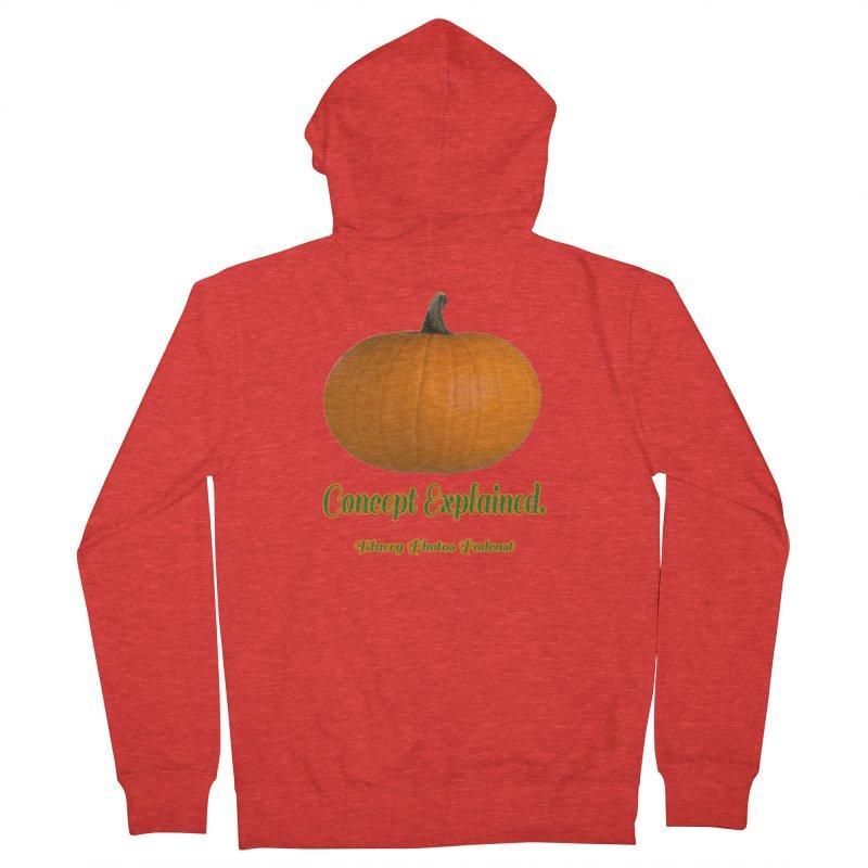 Pumpkin Explanation Women's Zip-Up Hoody by Blurry Photos's Artist Shop
