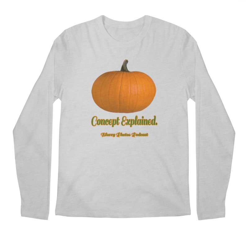 Pumpkin Explanation Men's Regular Longsleeve T-Shirt by Blurry Photos's Artist Shop