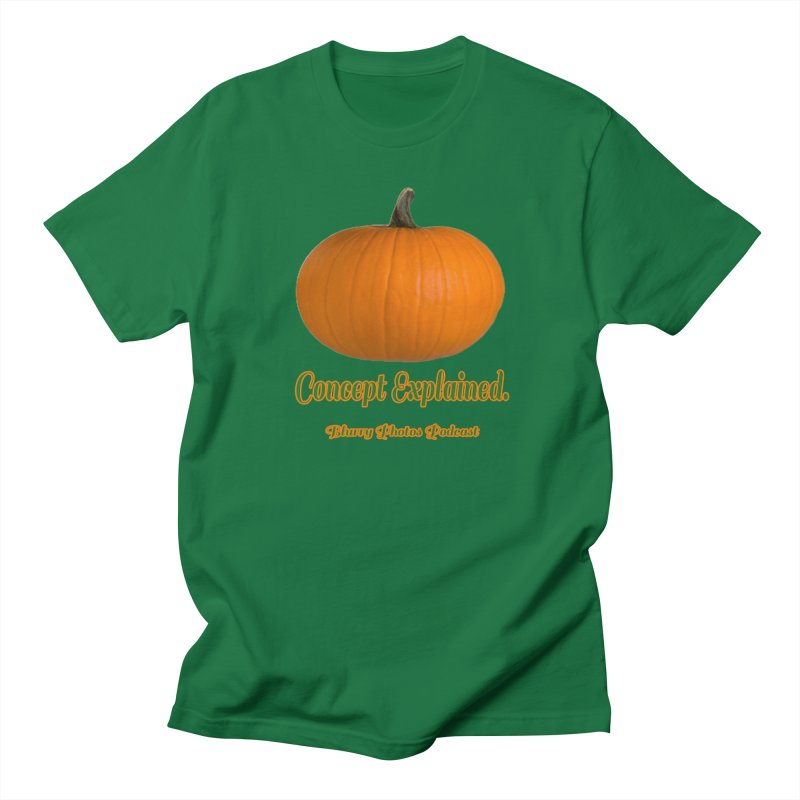 Pumpkin Explanation Men's T-Shirt by Blurry Photos's Artist Shop