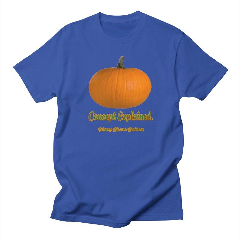 Pumpkin Explanation Women's Regular Unisex T-Shirt by Blurry Photos's Artist Shop