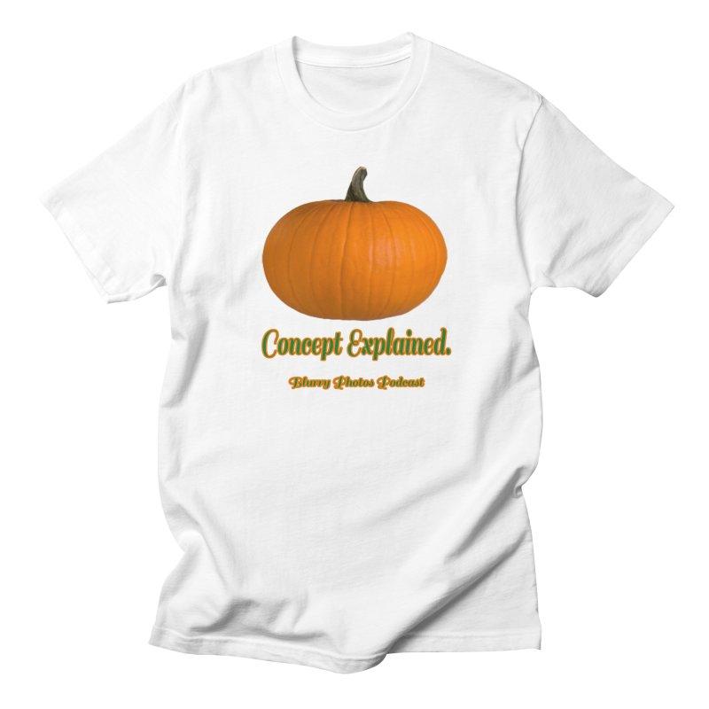 Pumpkin Explanation Men's Regular T-Shirt by Blurry Photos's Artist Shop