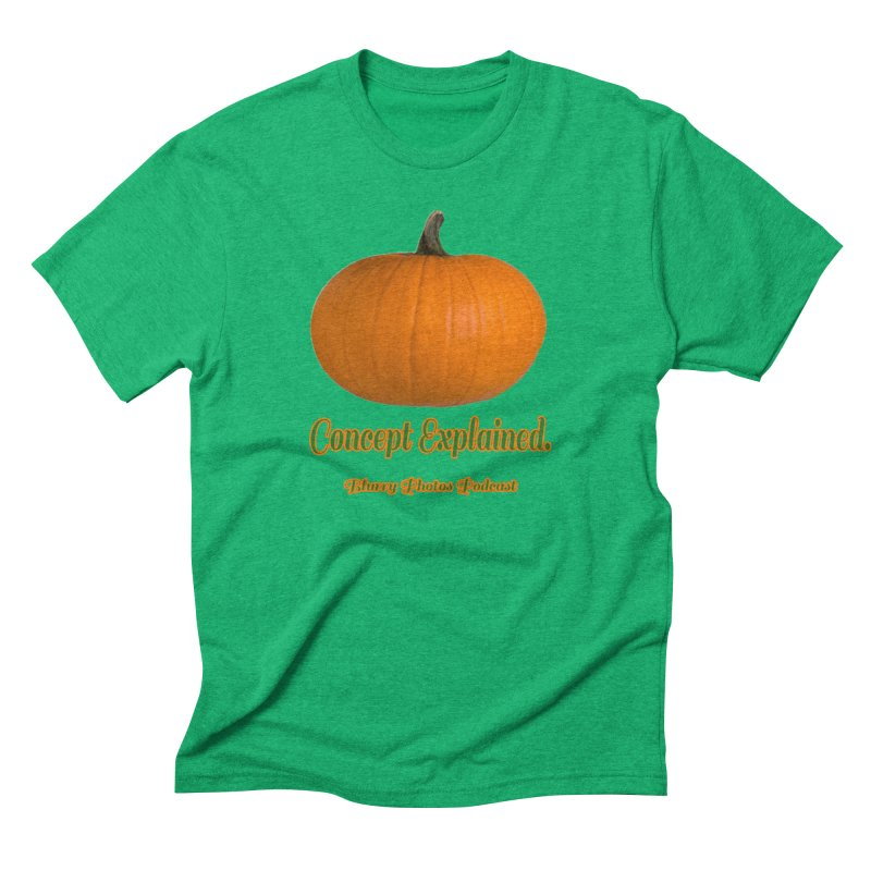 Pumpkin Explanation Men's Triblend T-Shirt by Blurry Photos's Artist Shop