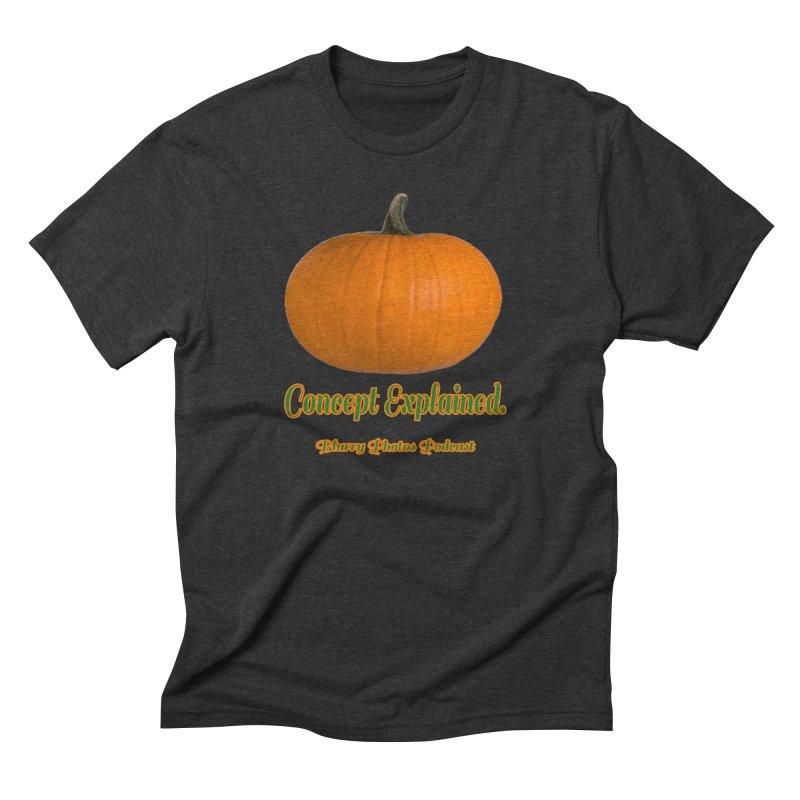 Pumpkin Explanation Men's Triblend T-Shirt by Blurry Photos's Artist Shop