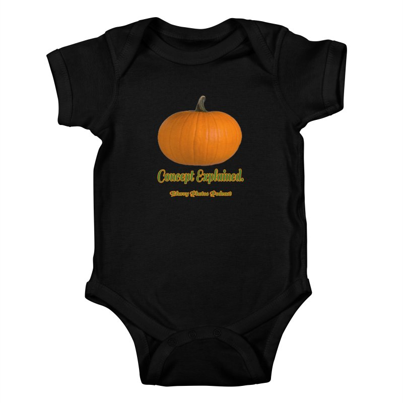 Pumpkin Explanation Kids Baby Bodysuit by Blurry Photos's Artist Shop