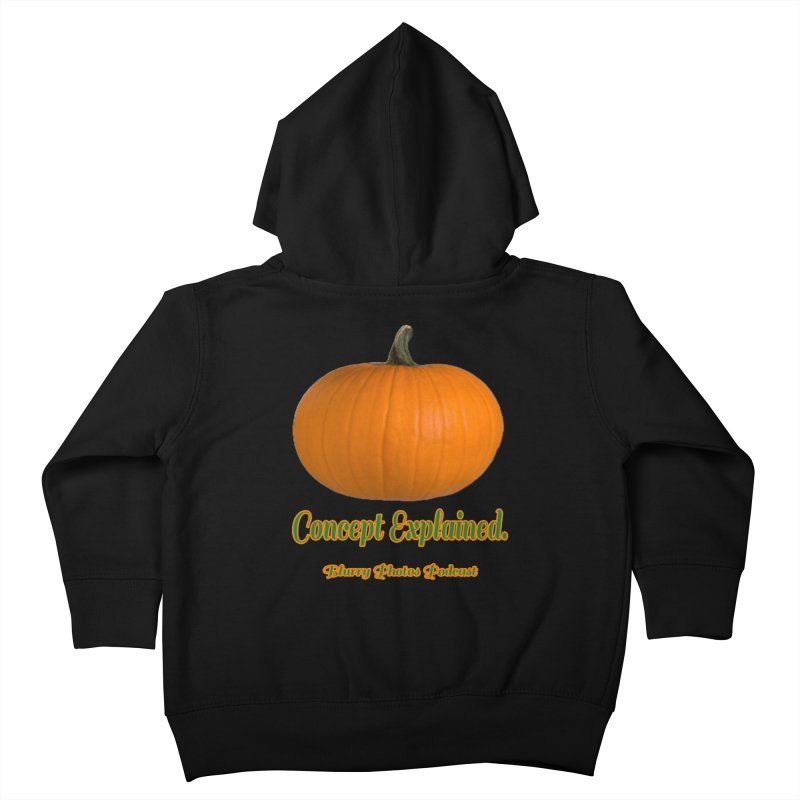 Pumpkin Explanation Kids Toddler Zip-Up Hoody by Blurry Photos's Artist Shop